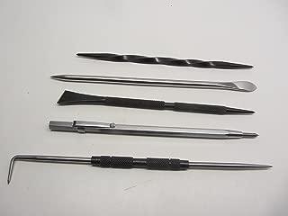 Grobet Mascot Intaglio Etching Scriber Scarper Burnisher Knife Kit
