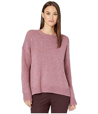 Eileen Fisher Airspun Wool Mohair Round Neck Top (Sachet) Women