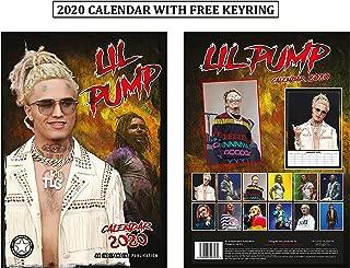 Lil Pump Unofficial Calendar 2020 + Lil Pump Keychain