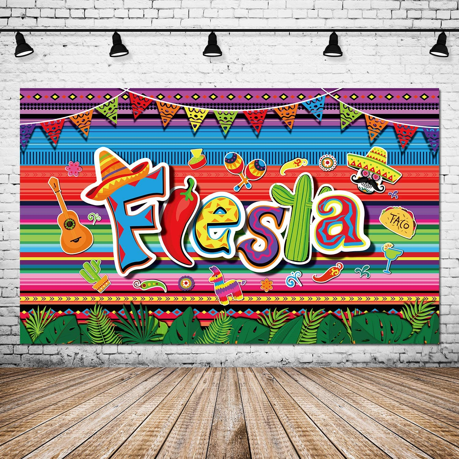 Summer Fiesta Party Decorations Mexican Theme Photography Backdr