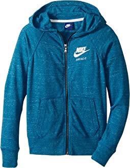 Nike Kids - Sportswear Vintage Full-Zip Hoodie (Little Kids/Big Kids)