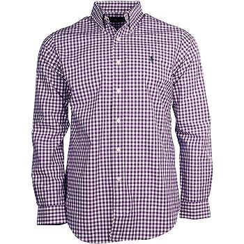 Polo Ralph Lauren - Camisa de popelina para hombre (talla L/S ...