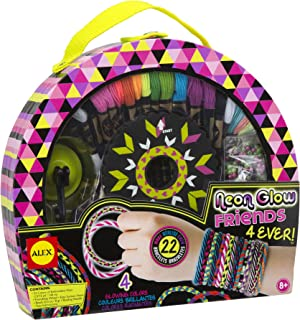 ALEX Toys Craft Neon Glow Friends 4Ever