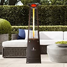 Lava Heat Italia - AMAZON-141 - KD Patio Heater - Heritage Bronze Finish - Propane Configuration