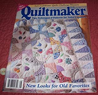 Quiltmaker - Tips, Techniques & Patterns for Today's Quilters #50 (Vol. 15, No. 4) -July/August 1996