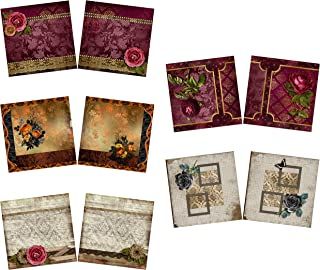 Roses NPM - Heritage - Scrapbook Set - 5 Double Page Layouts