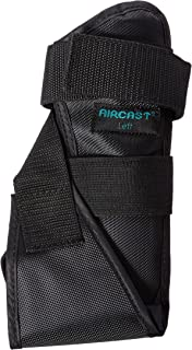 DJO 02MML AIRCAST AirSport Ankle Brace, Left, Men Sizes 7.5-11, Women Sizes 9-12.5, Medium