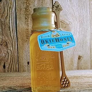 Mini Glass Muth Jar Set Oklahoma Wildflower Spring Harvest