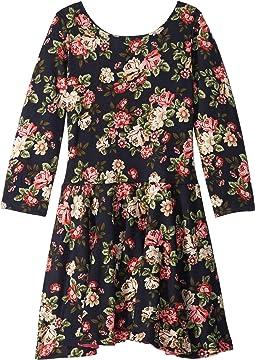 Judy Floral Knit Dress (Toddler/Little Kids/Big Kids)