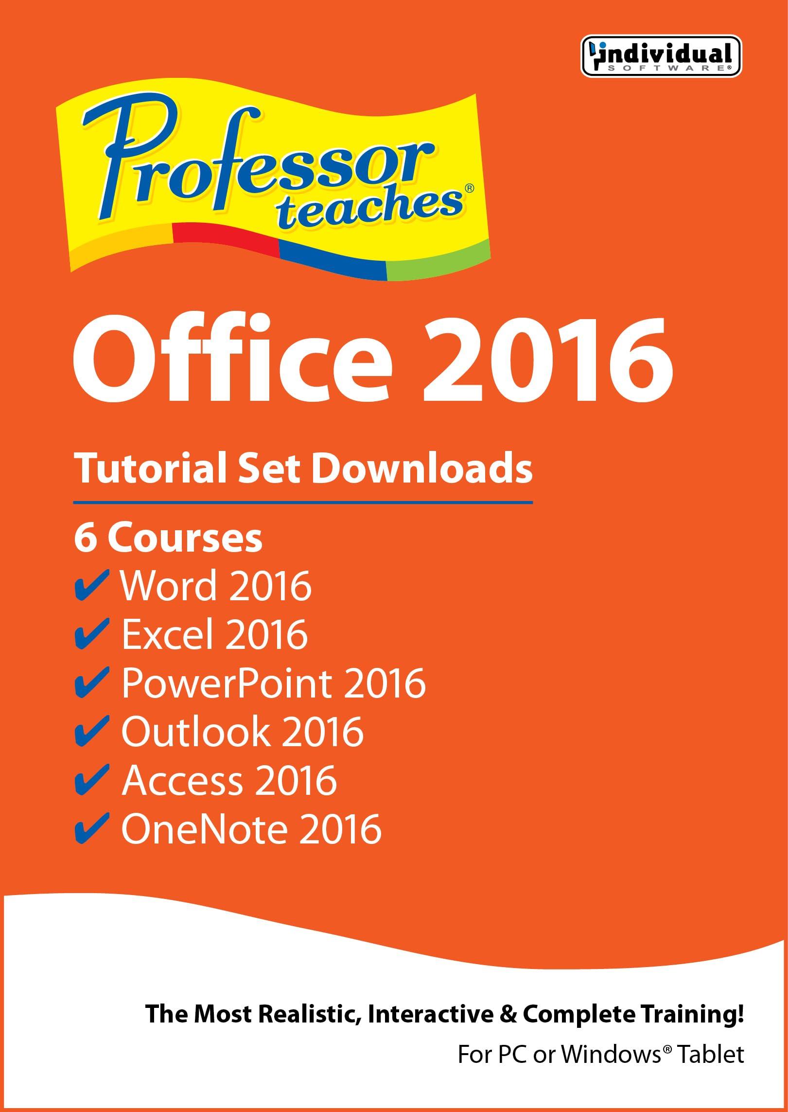 Professor Teaches 5 ☆ very popular Memphis Mall Office 2016 Set Downloads Download Tutorial