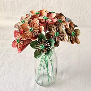 Natural Origami Flower Bouquet