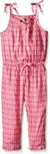 Juicy Couture Baby Girls' Printed Jumpsuit with Spaghetti Straps