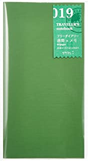 1 X Midori Traveler's Notebook (Refill 019) Free Diary Weekly and Memo (28 Weeks)
