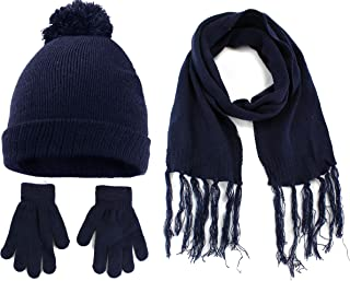 Best navy hat scarf and gloves Reviews