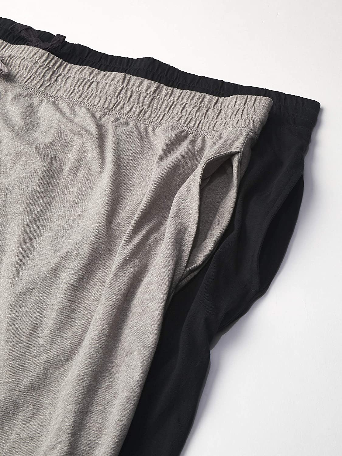 Fruit of the Loom Men's Jersey Knit Jogger Sleep Pant (1 and 2 Packs)