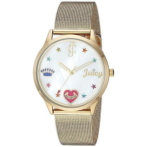c0f9980595a Juicy Couture Black Label Women s Mesh Bracelet Watch
