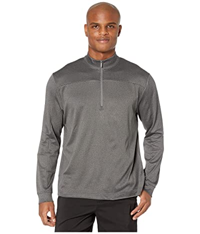 Callaway Stretch Waffle Fleece 1/4 Zip Pullover (Castlerock Heather) Men