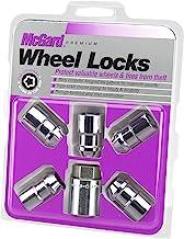 "McGard 24538 Chrome Cone Seat Wheel Lock (1/2""-20 Thread Size) – Set of 5"