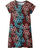 mini rodini - Daisy Short Sleeve Dress (Infant/Toddler/Little Kids/Big Kids)
