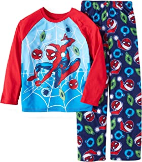 Marvel Spider-Man Christmas Boys 2 Piece Pajama Set