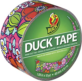 (Wall Flower) - Duck Brand 281759 Wallflower Printed Duct Tape, 4.8cm by 10 Yards, Single Roll
