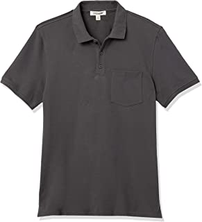 Amazon Brand - Goodthreads Men's Soft Cotton Stretch Pique Polo