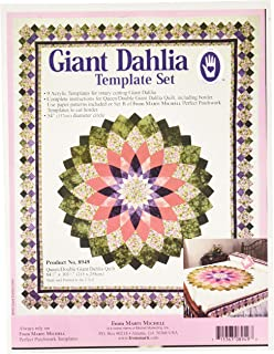 Marti Michell 8949 Giant Dahlia Template Set, 54
