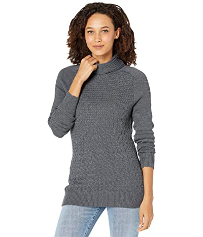 Smartwool Dacono Ski Sweater (Medium Gray Heather) Women