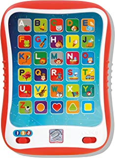 Learning Tablet for Kids, Toddler Educational ABC Toy, Learn Alphabet Sounds, Shapes, Music and Words - Early Development ...