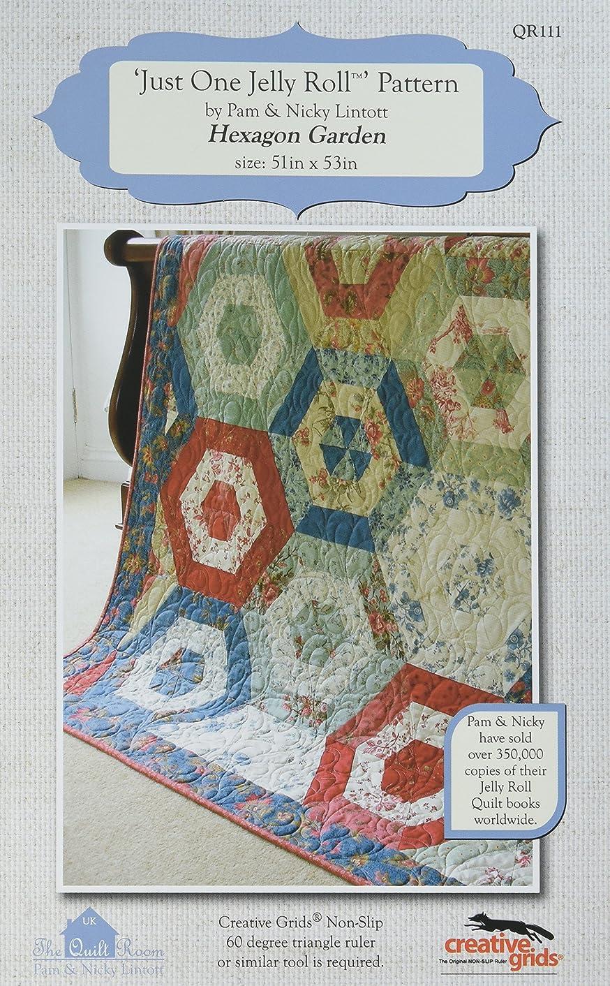 The Quilt Room The Hexagon Garden Pattern