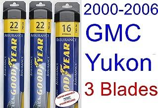 Best 2003 yukon xl wiper blade size Reviews