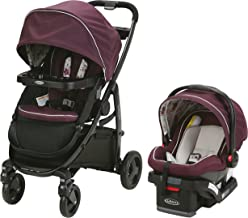 Graco Modes Travel System | Includes Modes Stroller and SnugRide SnugLock 35 Infant Car Seat, Nanette