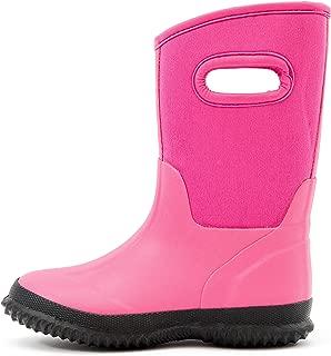 Kids Toddler Neoprene Warm Snow Boots Rain Boots