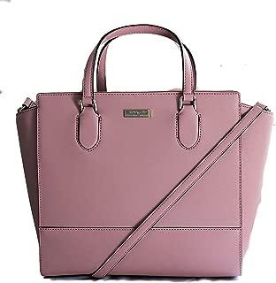 Kate Spade Hadlee Laurel Way Dusty Peony Leather Handbag