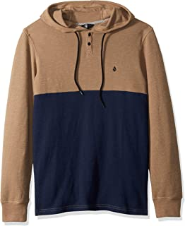 Volcom Men's Murphy Long Sleeve Hooded Thermal Shirt