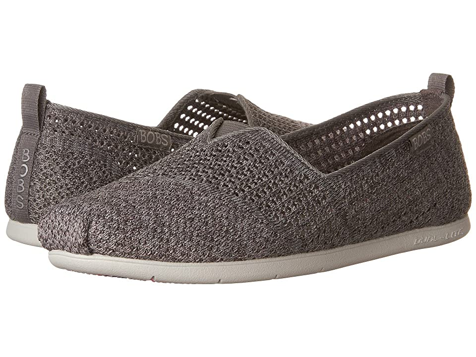BOBS from SKECHERS Plush Lite Be Cool (Gray Multi) Women