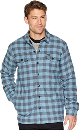 67 Collection - Flannel Shirt Jacket with Sherpa Lining