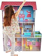 Kiddi Style Casa Muñecas Madera Grande - Modelo Town House