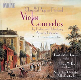 Ferling, E.: Violin Concerto in D Major / Contradance Nos. 2 and 3 / Tulindberg, E.: Violin Concerto, Op. 1