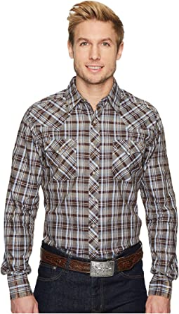 Wrangler - Long Sleeve Retro Premium Shirt Plaid Check