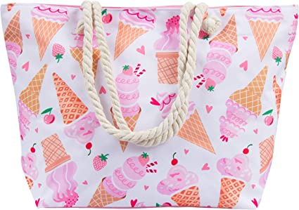 This Awesome Ice Cream Beach Tote