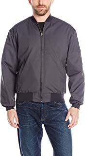 Men's Solid Team Jacket with Insulated Zip-Out Liner
