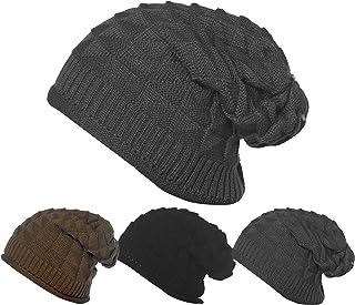 73c7f0317d1 Bertelli 3 Pack Womens Winter Knit Headband   Hairband Ear Warmer   Beanies