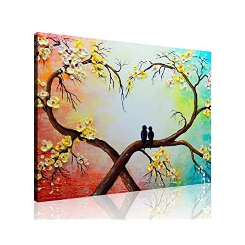 Love Birds Wall Art Amazon Com
