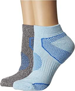 Columbia 2-Pack Low Cut Walking Socks