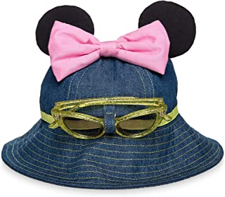 Disney Minnie Mouse Hat and Sunglasses Set for Baby Size 12-24 MO Multi