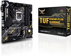 Asus TUF B365M-PLUS Gaming (Wi-Fi) LGA1151 (300 Series) DDR4 HDMI WiFi M.2 mATX Motherboard