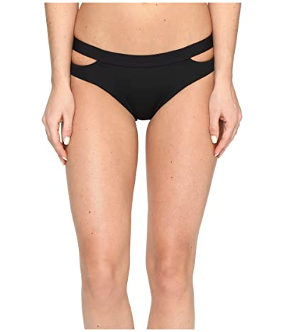 Seafolly Fastlane Active Split Band Hipster Bottoms (Black) Women