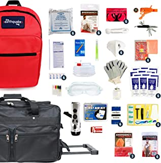 mayday 2 person deluxe emergency backpack kit