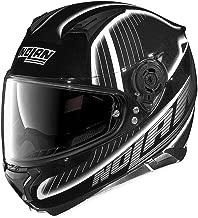 Nolan Unisex Adult N87 Harp Black/White Full Face Helmet N875273980202